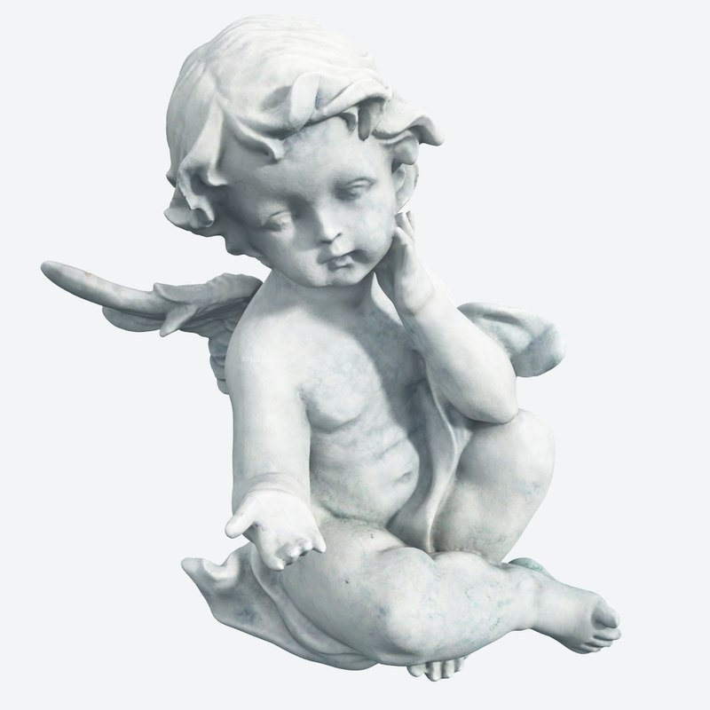 maya angel statue