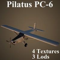 3d pilatus porter model