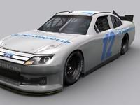 racecar 2012 3d obj