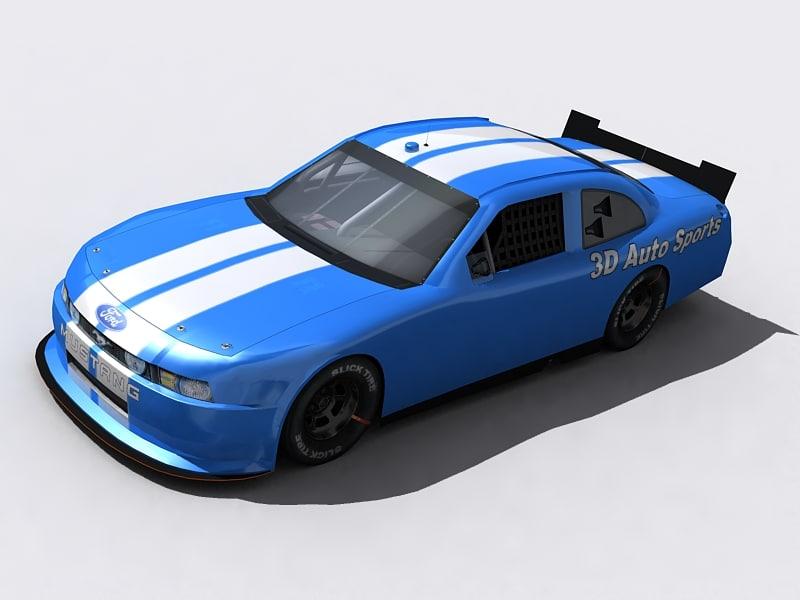 3d model 2010 nationwide nascar cot