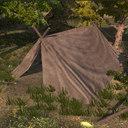 medieval tents huts 3d model