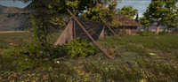 Medieval Huts and Tents
