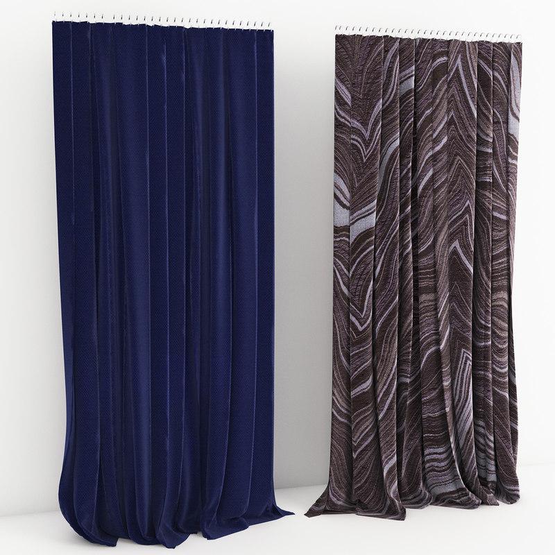 06 curtain 3d obj