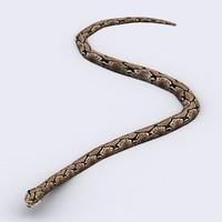 3d snake model