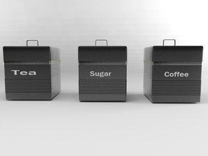 teaboxes mentalray 3d obj