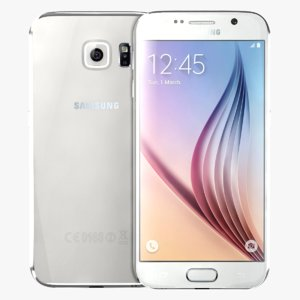 samsung galaxy s6 white 3d model