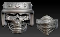 skull Ring for 3D print