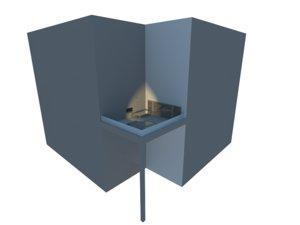 hot-tub jacuzzi 3d model