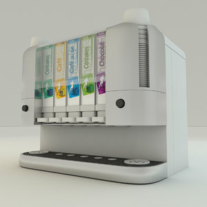 cartridge dispenser 3d 3ds