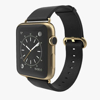 3dsmax apple watch classic buckle