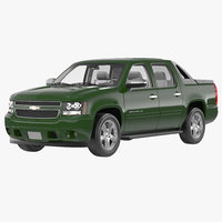 Chevrolet Avalanche 2014 3D Model