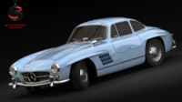 "Mercedes-Benz 300 SL ""Gullwing"