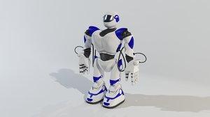 3d model robot robosapien