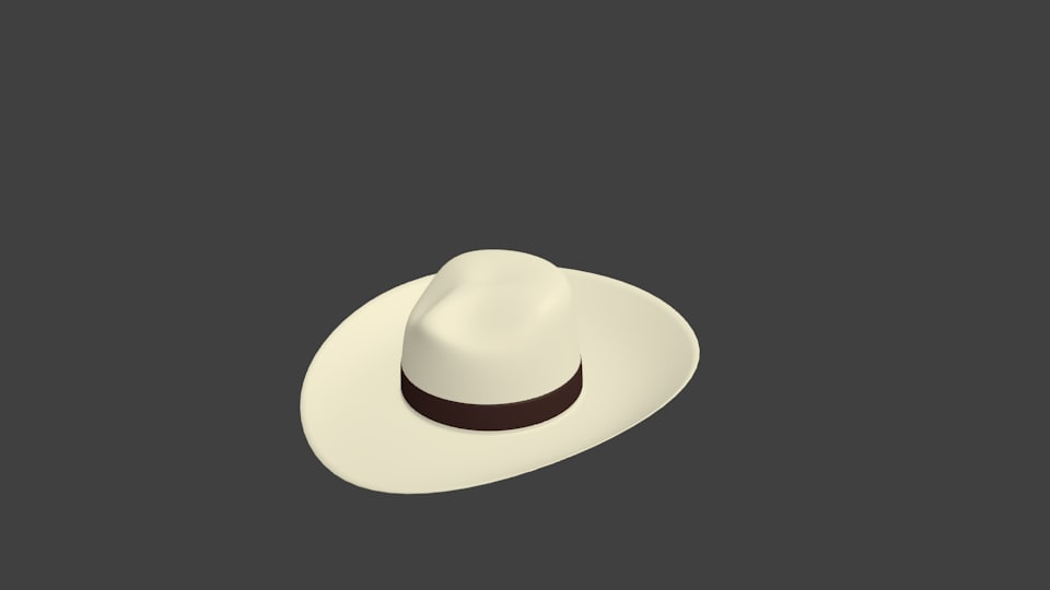 fedora hat blend