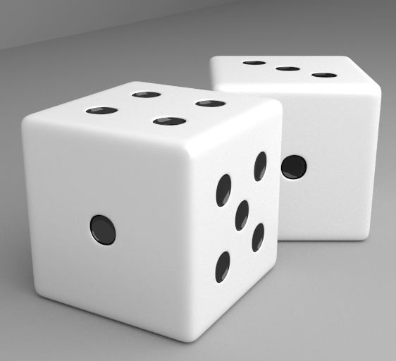 3ds dice number