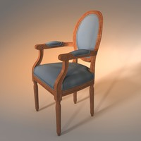 chair vintage obj