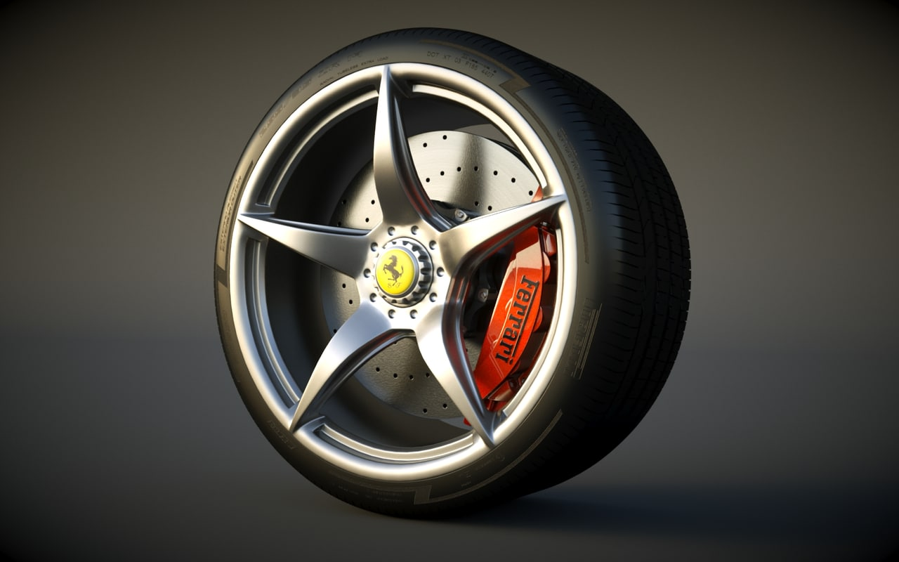 maya ferrari laferrari wheel