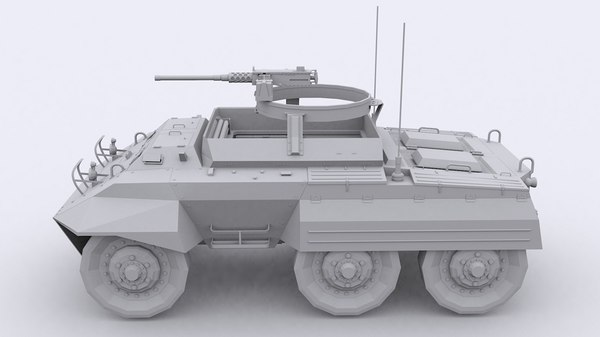3d m20 armored car