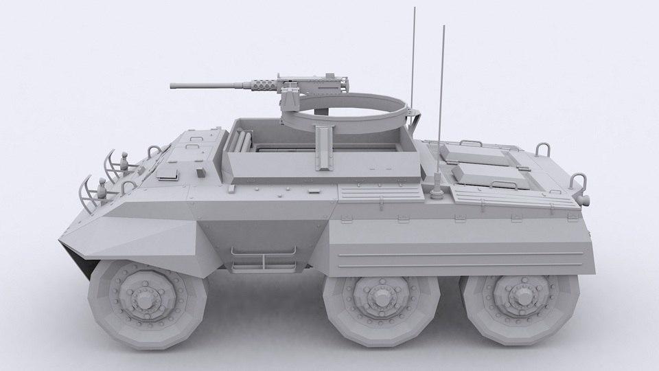 3d m20 armored car