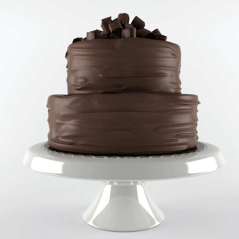 3d cake chocolate