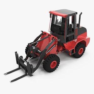 3d lifter industrial model