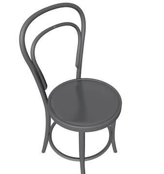 simplistic chair 3d c4d