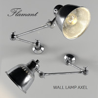 wall lamp axel 3d max