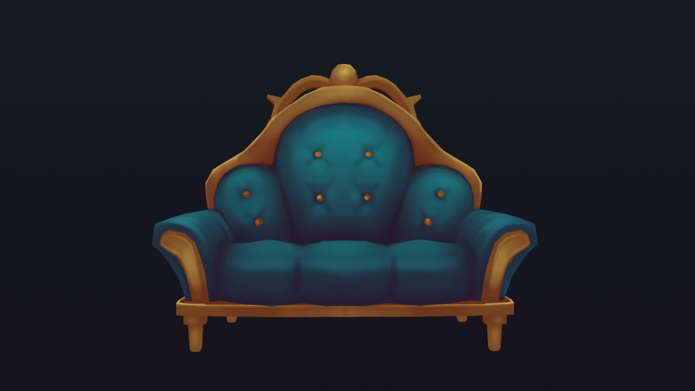 3d couch mansions