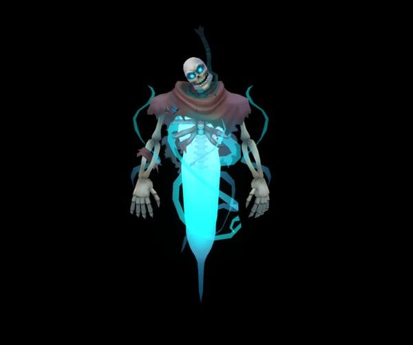 spirit 3d model