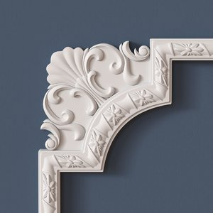 3d molding corner