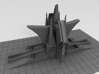 sci-fi castle 3ds