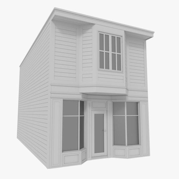 american building 3d model