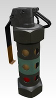 3d flashbang stun grenade model