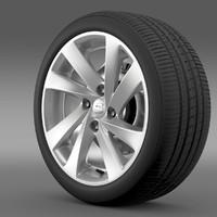 3d 3ds seat mii wheel