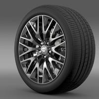 Nissan Cima Hybrid wheel