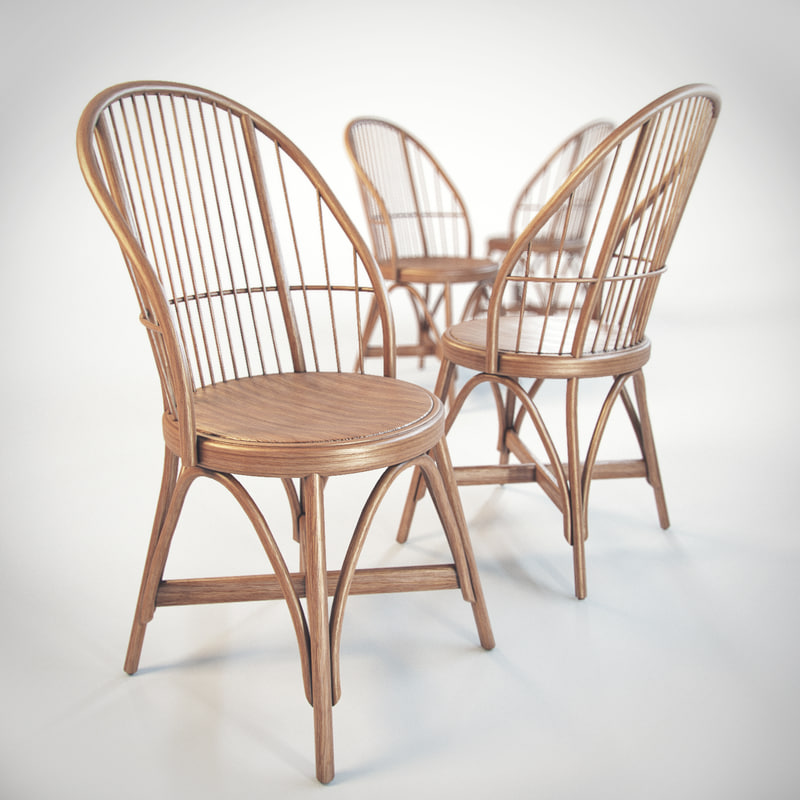 3d obj dining chair