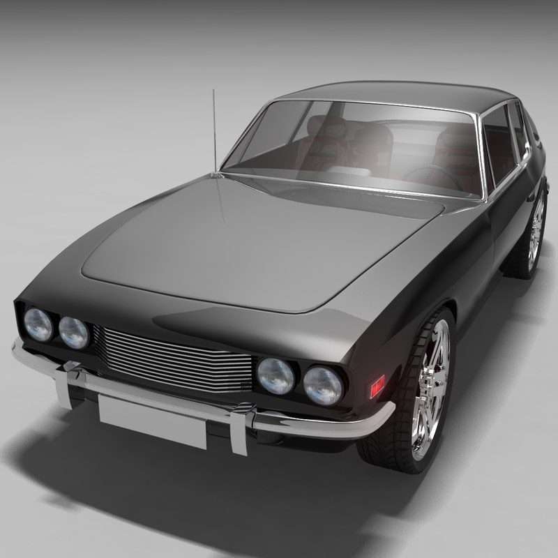 jensen interceptor 3d model