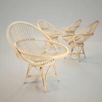 max armchair natural rattan