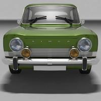 Simca 1000 Car Model