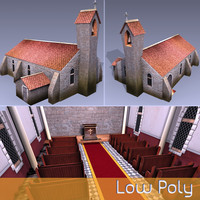 Low Poly Chapel