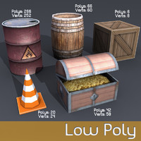 3d model of ready games oil