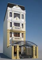 3d model house classic