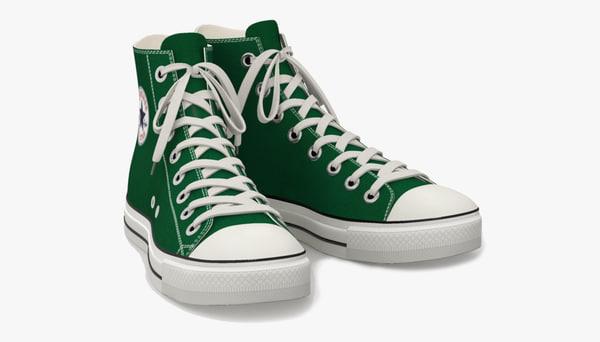 obj shoe converse