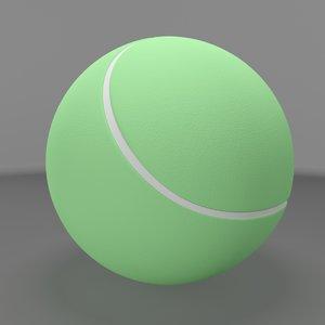 3dsmax tennisball sports materials
