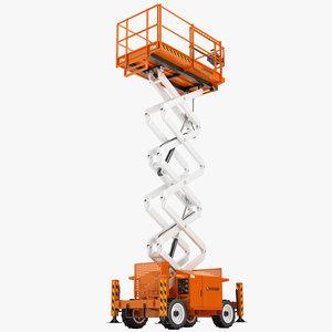 snorkel compact lifts 3d model