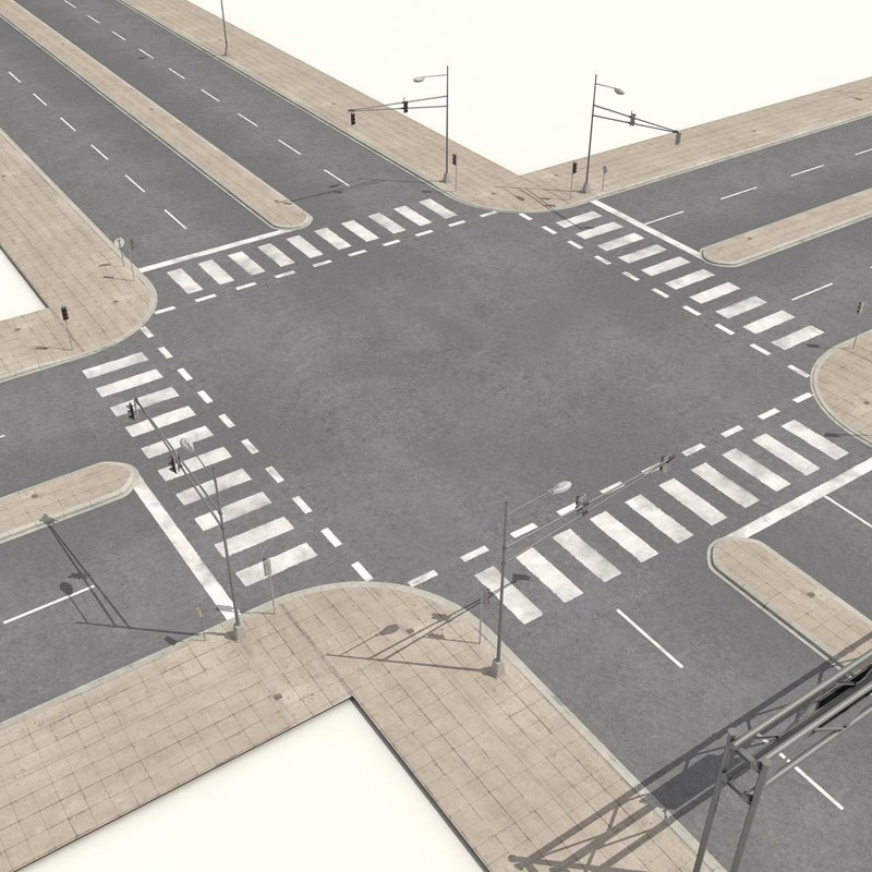 3d model streets roads highways collections 3d model sites