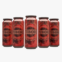 tuborg beer 3d max