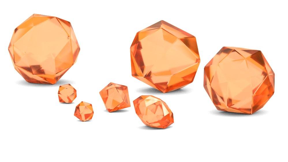 obj gemstones crystals