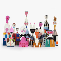 Vitra Wooden Dolls Part 1 (#1-11)