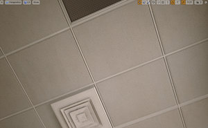 maya ceiling grid set -
